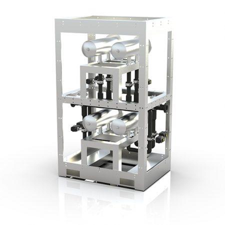 Filtermodul for vannrensing