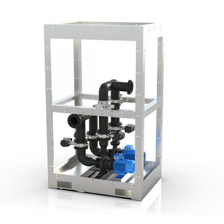 Pumpemodul for vannrensing